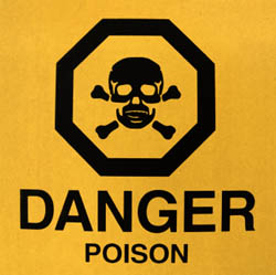 danger poisonous skincare